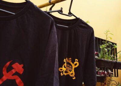 Camiseta de algodão 30.1 Penteada que isso camarada cliente 140