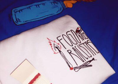 Camiseta de algodão 30.1 Penteada que isso camarada cliente 141