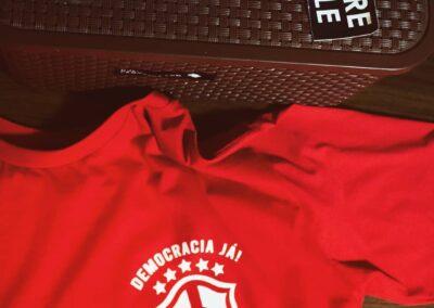 Camiseta de algodão 30.1 Penteada que isso camarada cliente 145