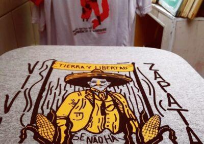 Camiseta de algodão 30.1 Penteada que isso camarada cliente 147