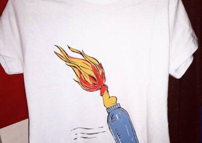 Camiseta de algodão 30.1 Penteada que isso camarada cliente 167