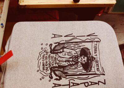 Camiseta de algodão 30.1 Penteada que isso camarada cliente 169