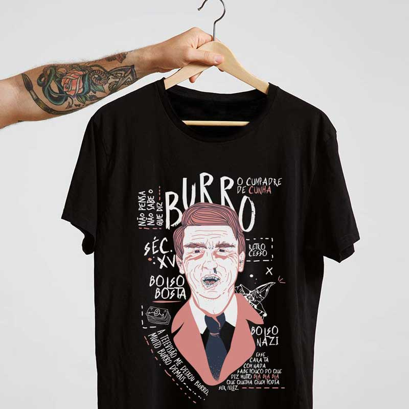 Camiseta Bolsobosta Preta