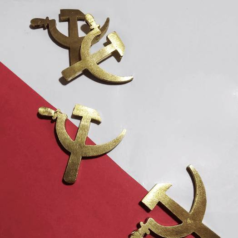 Abridor de garrafa comunista da Forja Vermelha