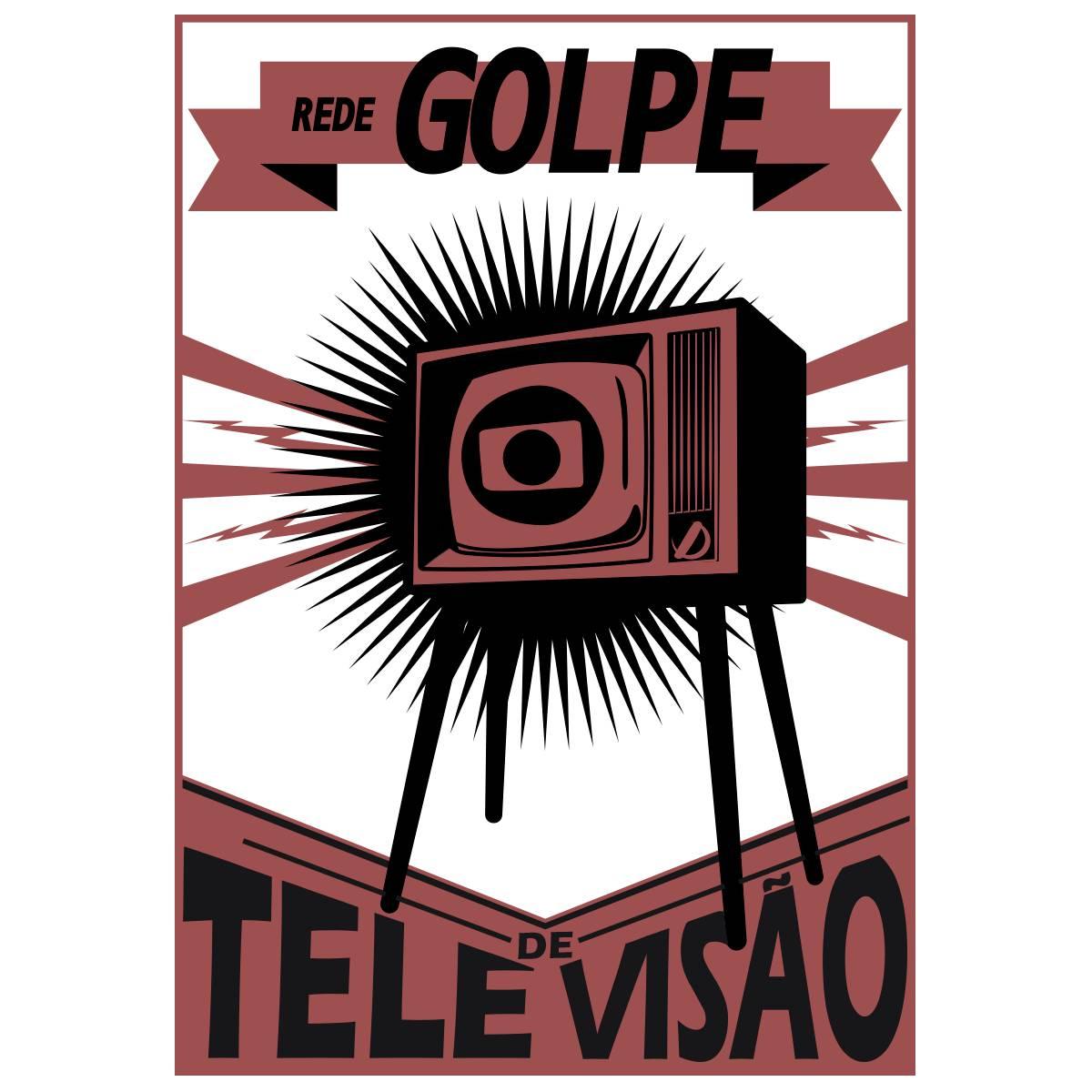Ilustração Rede Golpe de televisão