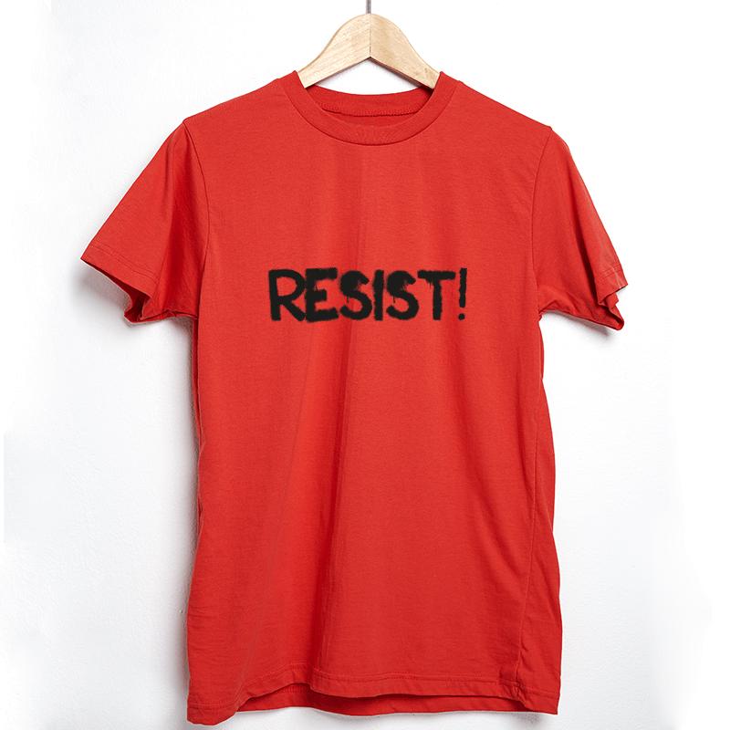 Camiseta Resist vermelha