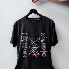 Camiseta de algodão chumbo - Homem com mulher pode. Homem com homem pode. Mulher com mulher pode. Procurador com juiz não pode. Porque tudo tem limite
