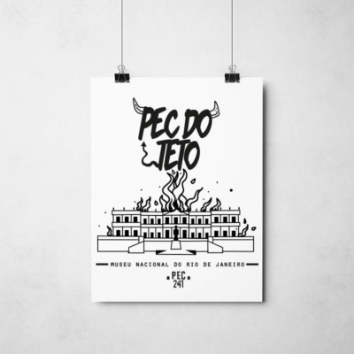 Poster Pec do Teto