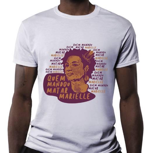 Camiseta Marielle Presente branca