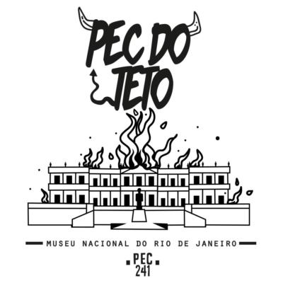 Ilustração Pec 241 do teto - Museu Nacional do Rio de Janeiro