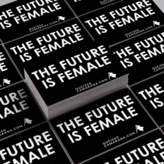 Adesivo The future is female