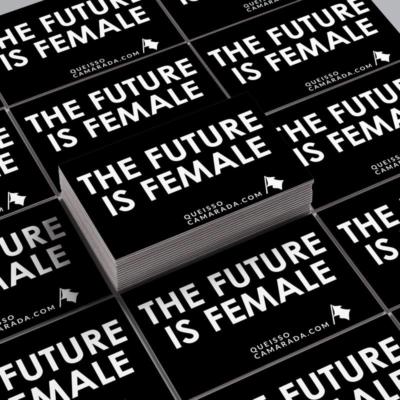 Adesivo The future is female