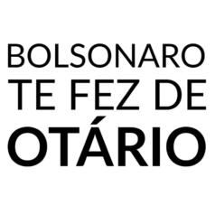 Ilustração Bolsonaro te fez otário