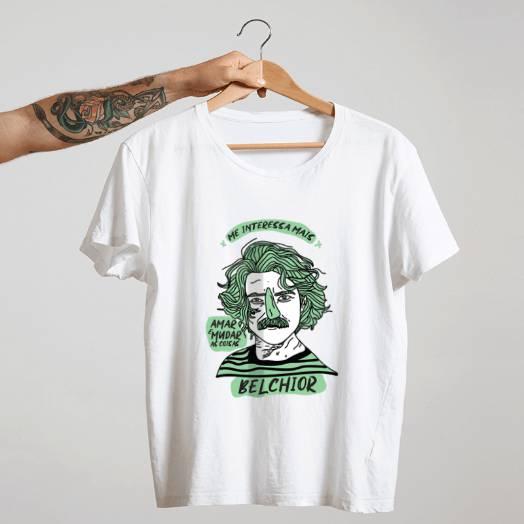 Camiseta Belchior Branca