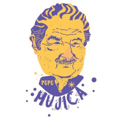 Camiseta Pepe Mujica Branca
