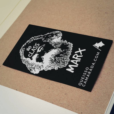 Adesivo Karl Marx