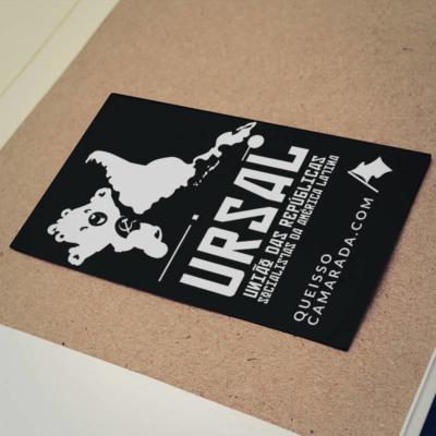 Adesivo URSAL, União das Repúblicas Socialistas da América Latina