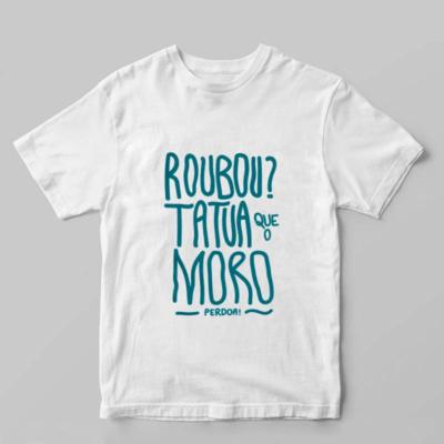 Camiseta Moro e a anticorrupção branca