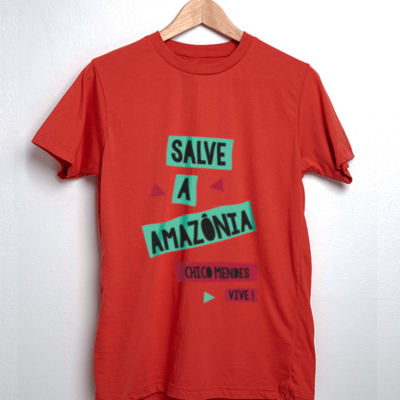 Camiseta - Chico Mendes - Salve a Amazônia