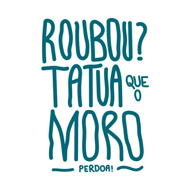 Ilustração Moro e a anticorrupção