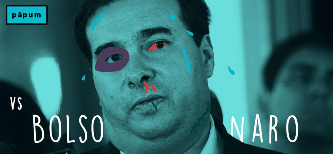 """""""Sou filho de exilado político"""", diz  Rodrigo Maia, presidente da Câmara"""