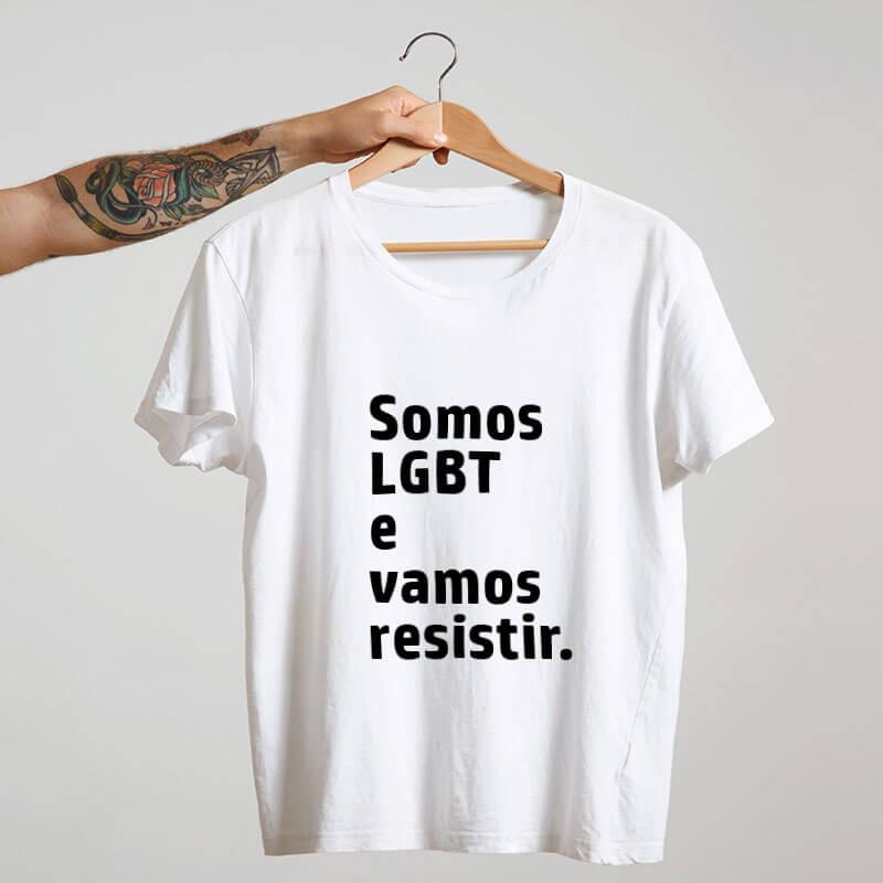 Camiseta-Branca-Somos-LGBT-e-vamos-resistir