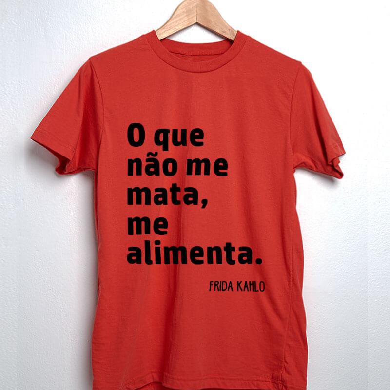 Camiseta-Vermelha-O-que-nao-me-mata,-me-alimenta