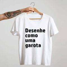 Camiseta-branca-Desenhe-como-uma-garota