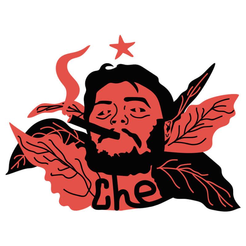 Ilustração Che Guevara