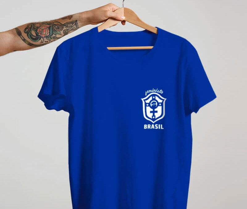 Camisa – Seleção Brasileira Feminina Feminista Marta