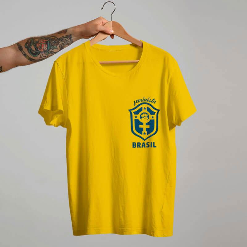 Camiseta Seleçao feminina amarela Marta