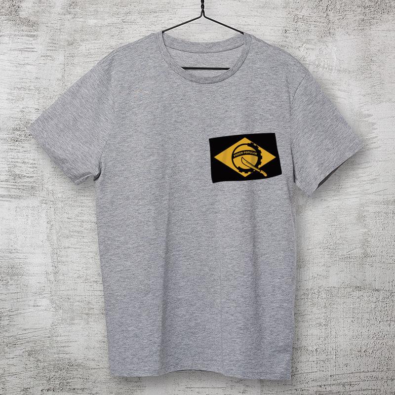 Camiseta - Poder Popular do Brasil