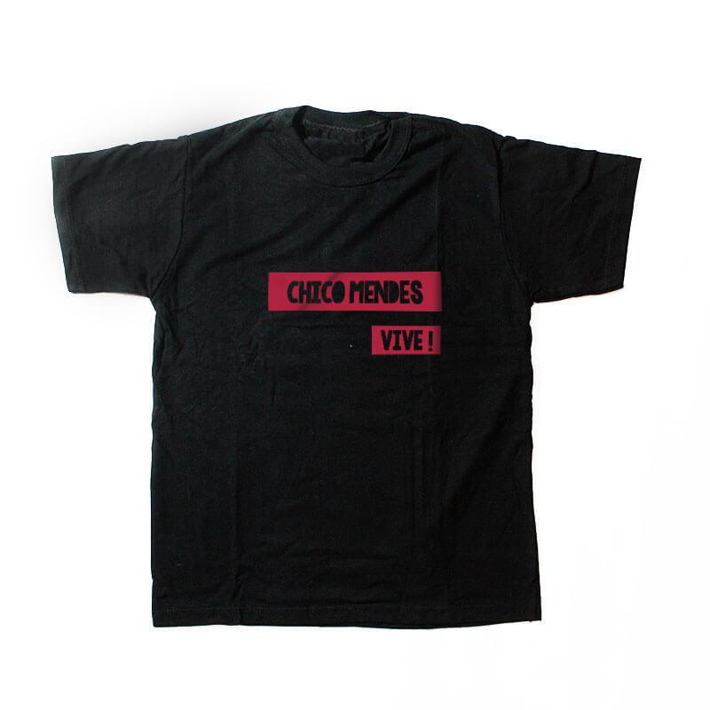 camiseta infantil - Chico Mendes -