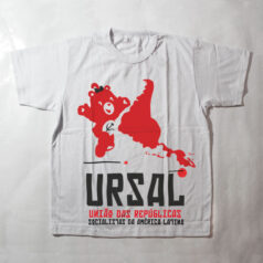 camiseta infantil - URSAL - branca