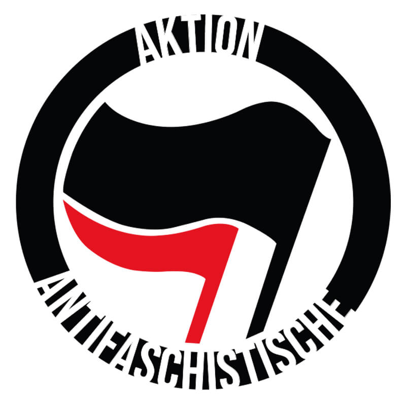 Ilustração- Aktion Antifaschistische