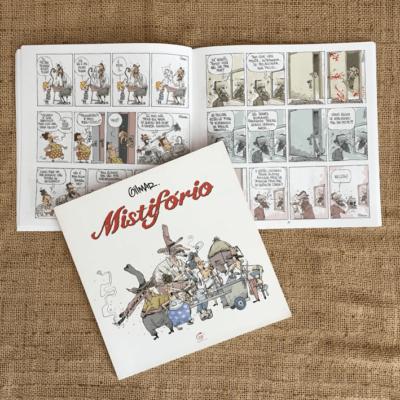 Livro Mistiforio - Por Cartunista das Cavernas