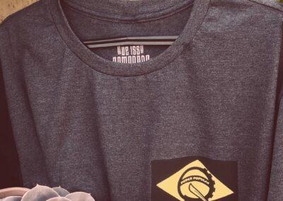 Camiseta de algodão 30.1 Penteada que isso camarada cliente124