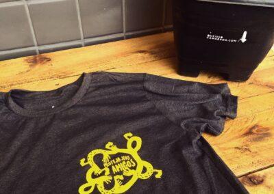 Camiseta de algodão 30.1 Penteada que isso camarada cliente53