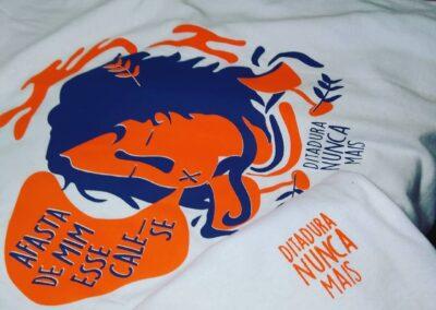 Camiseta de algodão 30.1 Penteada que isso camarada cliente54