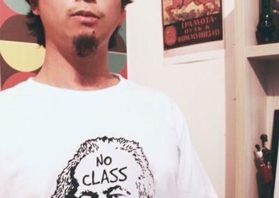 Camiseta de algodão 30.1 Penteada que isso camarada cliente9