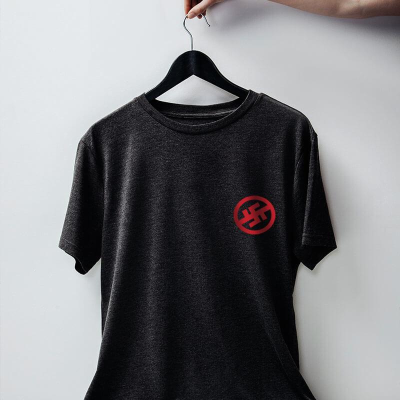 Camiseta chumbo de algodão - Resistência antinazista