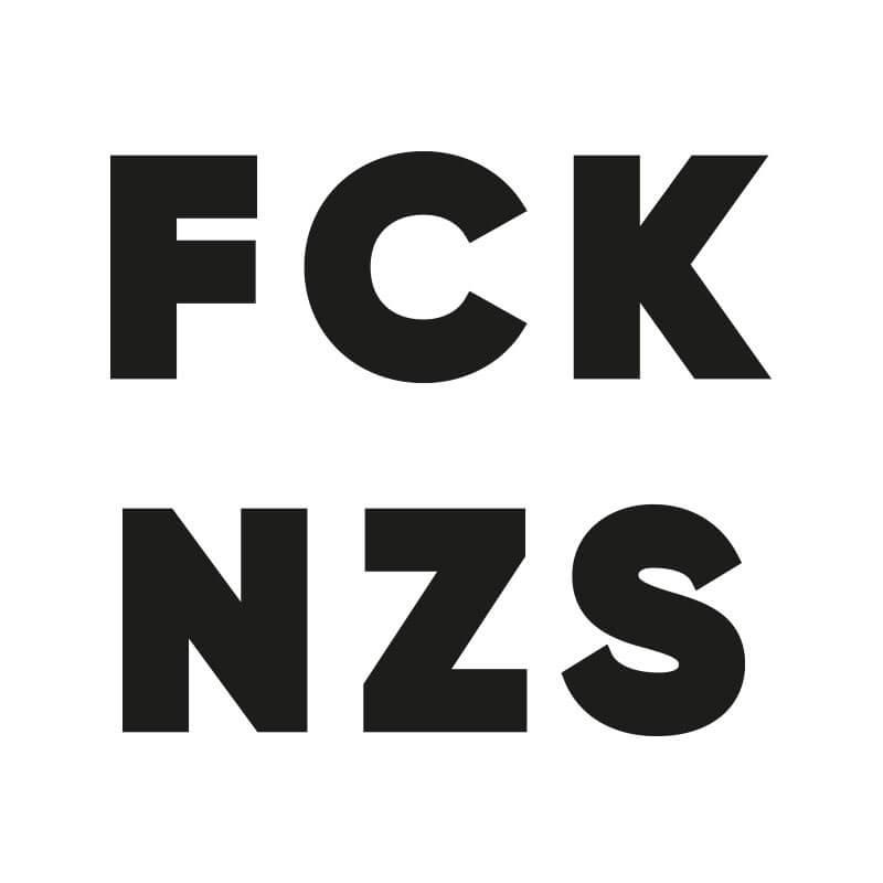 Logo máscara fck nzs