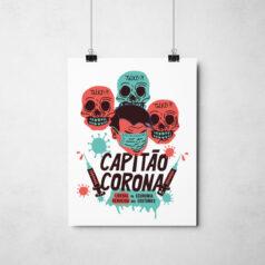 Poster - Capitão Corona por Alinne Martins