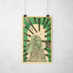 Poster - Movimento Pantera Negra - Porcos na mira