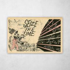 Poster - Movimento Pantera Negra - Seize the time