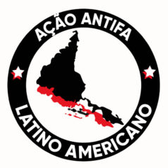Ilustração Antifa Latinoamerica por Alinne Martins