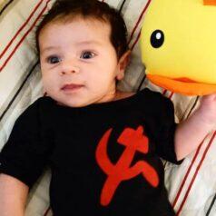 Body para bebê Comunista
