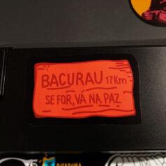 Adesivo - Bacurau, se for vá na paz