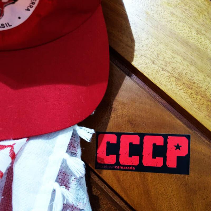 Adesivo - CCCP