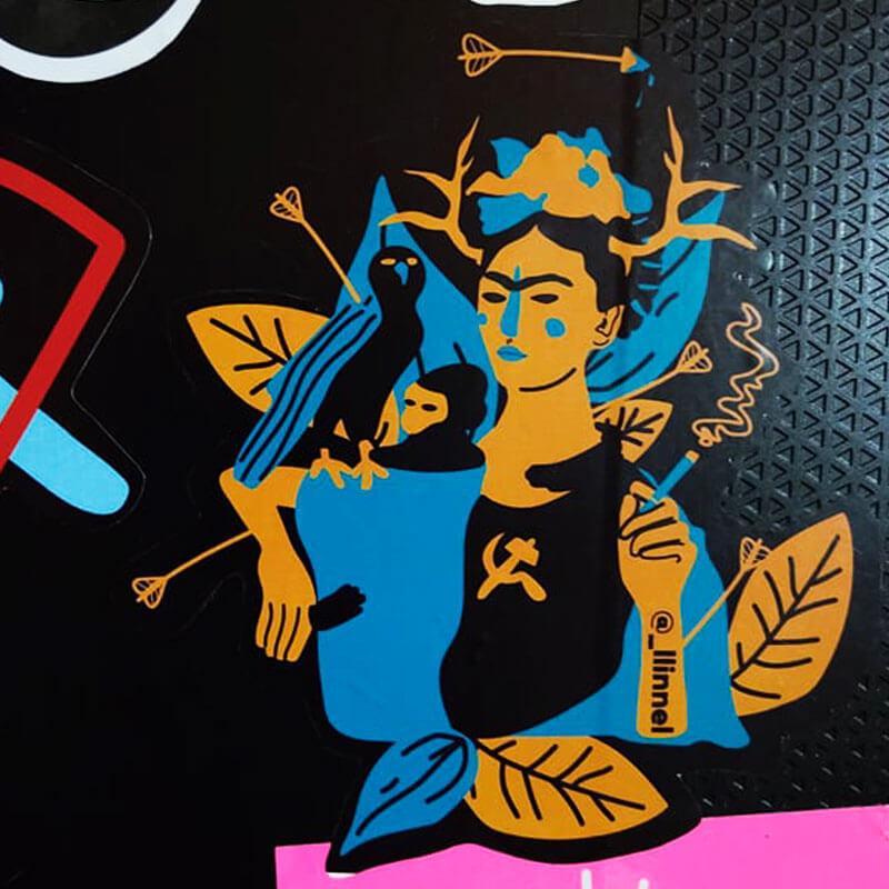 Adesivo - Frida Kahlo
